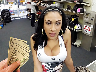 Young latina girl fucking for money