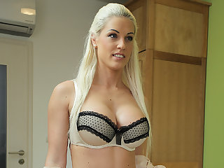 LOAN4K. Absolutely gorgeous blond be alive babe girl has wonderful..