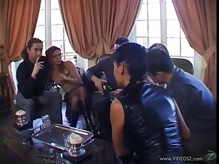 Lovely hot ass porn hotties Adrianna Laurenti and Tima forth a ugly anal gangbang
