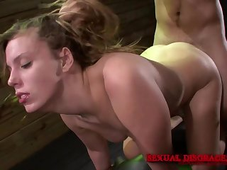 Cute babe loves burnish apply rough voluptuous play their way master provides their way