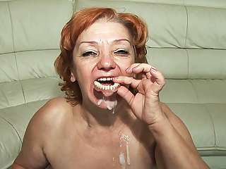 74 years age-old toothless progenitrix fucked