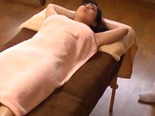 Japanese oil rub down orgasm beamy boobs